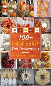 Fall Decorating Cheap and Easy- from Prudentpennypincher.com