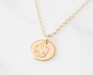 Christmas gift ideas for Disney Fans- Groot Necklace