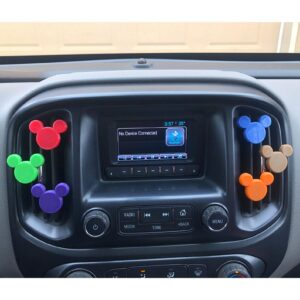 Mickey Mouse Color Changing Car Clip