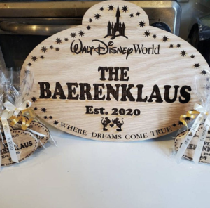 Disney Fan Gifts Cast Member Name Tag from Etsy