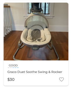 Graco Duet Sooth and Swing Rocker Markid App