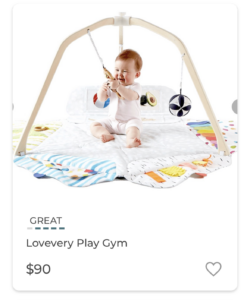 Lovevery Play Gym from Markid App