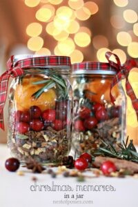 Mulling Spices. Christmas in a Jar