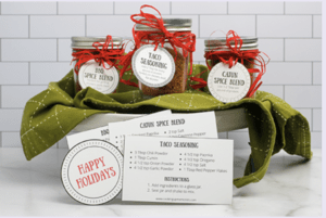 Cooking Up Memories DIY Spice Gift Set