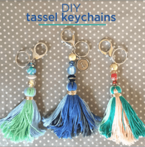 DIY Keychain Tassel