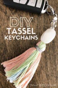 Pretty Tassel Keychain