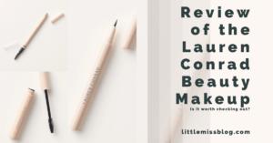 Review of Lauren Conrad Beauty Makeup