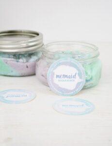 Mermaid Scrub in a jar