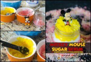 Mickey Mouse Sugar Scrub