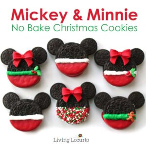 Holiday Treats to make as a gift- Mickey & Minnie oreos