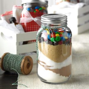 Sand Art Brownie Mix in a Jar