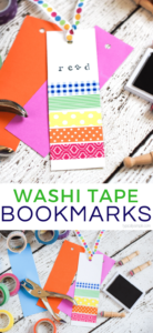 Washi Tape Bookmarks Easy to do