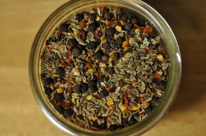 Homemade Spice Blends in a Jar